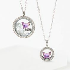 Spread your wings and capture your story of beauty and transformation with our Crystal Vitrail Light Butterfly Swarovski®️ Crystal Locket Figurine, created exclusively for Origami Owl®️ by Swarovski. Featured in light purple and blue hues, this custom-cut Locket Figurine looks beautiful in a Living Locket®️ on its own or with additional Charms!#origamiowl #origamiowlcharm #charm #figurine #swarovski #gifts #mothersdaygift