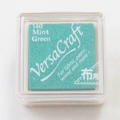 Mint Green VersaCraft Ink Pad (VKS-140) for paper fabric leather wood