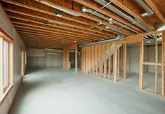 8 Dos and Don'ts for Finishing Basement Walls is part of Dos And Donts For Finishing Basement Walls Bob Vila - Turning an unfinished basement into extra living space Learn what to do when finishing basement walls to achieve quality, comfortable conditions Framing A Basement, Finishing Basement Walls, Basement Stairs, Basement Bedrooms, Basement Flooring, Basement Ideas, Basement Bathroom, Basement Layout, Flooring Ideas
