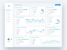 Analytics Dashboard Tool by Andrea Montini
