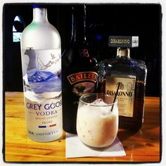 The Screaming Orgasm drink recipe is 1 oz. vodka, 1 oz. amaretto, 1 oz. Irish cream, and 1/2 oz. (2 oz?) half and half.