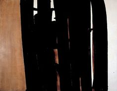 Pierre Soulages, Peinture 18 juin 1971.