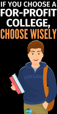 If You Choose a For-Profit College, Choose Wisely. The for-profit college ideal is suddenly under the gun after the ITT Technical Institute meltdown. You muse be careful in your choice. #CentSai #college #collegehacks #collegetips #education College Loans, College Hacks, College Life, Welcome To The Group, Creating Passive Income, Choose Wisely, Earn Money Online, Finance Tips, Money Management