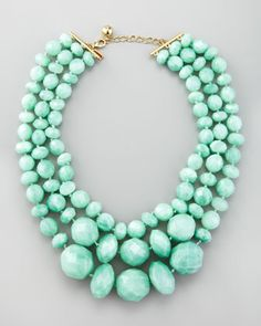 Kate Spade necklace.  I love you, Kate!