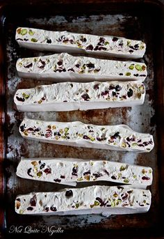 Dang, but this cranberry pistachio nougat is a work of art!
