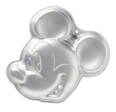 Wilton Mickey Mouse Clubhouse Cake Pan by Wilton. $12.92. Material: aluminum. One-mix pan is 13 by 12 by 2-inch deep. Coordinates with other party products. Hand wash recommended. It's always exciting when Mickey Mouse joins the party. Fun design is perfect for kids and adults alike. One-mix pan is 13 by 12 by 2-inch deep. Aluminum.