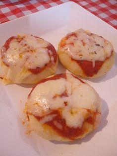 Mini pizza para festas