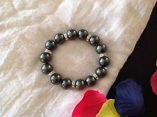 Bracciale da Donna Tipo Perle e Punti luce Elastico | eBay