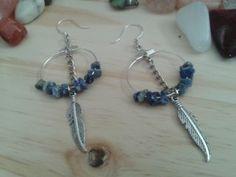 Lapis Lazuli hoop earrings for sale by For Keeps gemstone accessories Lapis Lazuli, Jewelery, Hoop Earrings, Gemstones, Accessories, Jewlery, Jewels, Jewerly, Gems