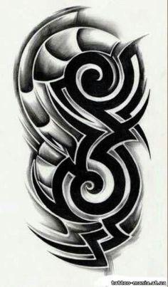 ab45d262311 Tribal tattoo design  Samoantattoos  dragonsleevetattoos  tribal  dragon   sleeve  tattoos