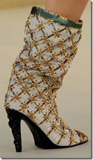 Obsessed With Shoes | Chanel Shoes Couture Fall 2010