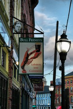 'Lobsters Love Guinness' - Portland, Maine