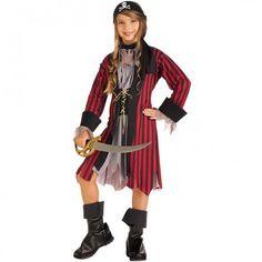 Girls Caribbean Pirate Costume