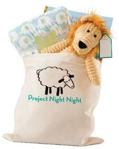 Service project-Project Night Night : Donate stuffed animals/books/blankets to homeless children.
