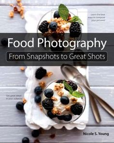 I've always thought that it would be fabulous to be a food stylist photographer - I found this link talking about some of the basics.