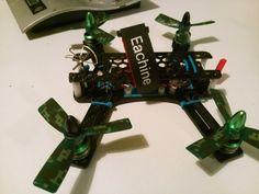 Diatone spadger 180 quadcopter build