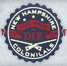 New Hampshire Colonials  by Adam Trageser