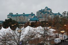View of Foxwoods with Tent Tops, MATRA, November 2012.