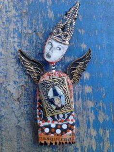 Front view- Halloween Fairy by Sherry Westfall Matthews