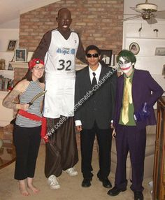 95 best popular celebrity halloween costumes images on pinterest coolest homemade shaquille oneal costume shaquille onealcelebrity halloween costumeshomemadediy solutioingenieria Images