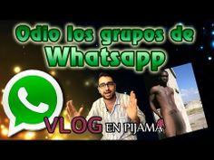 Odio los grupos de Whatsapp - Vlog en Pijama @ChemaRuizComico