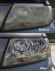 Clean Your Car Headlights With Toothpaste! If your car lights look dirty and foggy, try this great tip to restore them to their former shine. Directions: 1. Apply some toothpaste on a dry cloth. 2. Once the toothpaste is on the cloth, begin to rub the headlight cover with it until the grime comes off. 3. Keep rubbing the toothpaste in circular motions until the grime breaks down all the way. After that proceed to rinse with water and wipe down with a wet cloth.