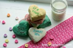Heart-Shaped Marshmallow Rice Treats are an easy treat to make for Valentine's Day. This recipe is so simple that it's genius! For this festive recipe, marshmallow rice treats are cut into heart shapes and dipped in melted candy for an adorably sweet treat. If you're in need of easy Valentine's ideas, then you will love this recipe. Once the hearts have been cut out, place the hearts on sticks and dip them in the candy. After the candy has harde...