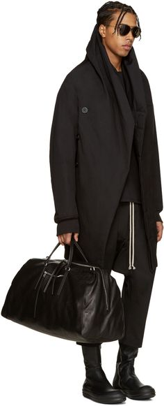 Rick Owens - Black Wotan Coat