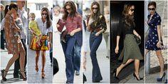styl victorii becham wzory Victoria Beckham, Kimono Top, Women, Fashion, Moda, Women's, La Mode, Fasion, Fashion Models