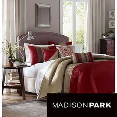Madison Park Salem 6-piece Duvet Cover Set | Overstock.com Shopping - The Best Deals on Duvet Covers