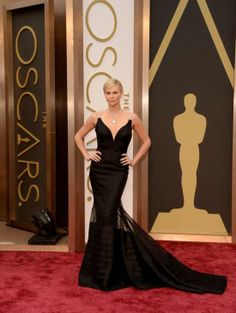 The Best Looks From the Oscars: Charlize Theron #Oscars #RedCarpet
