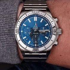@Breitling Chronomat Frecce Tricolori Limited Edition (250)... Quality Watches, Breitling Chronomat, Omega Watch, Accessories, Jewelry Accessories