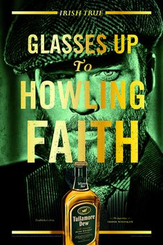 Howling Faith ~ Tullamore Dew poster