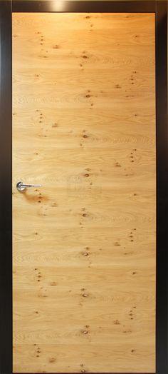 Drzwi wewnętrzne nowoczesne drewniane / mdf czarne dąb natura mat LW 500 - Lizurej