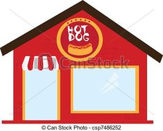 Restaurant building clipart  School building coloring page, classes coloring page for kids ...