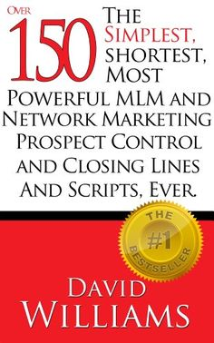 12 best prospecting and closing script images on pinterest the simplest shortest most powerful mlm and network marketing prospect control and closing lines fandeluxe Images