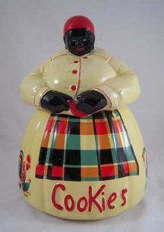 Vintage Aunt Jemima cookie jars in stock @ Lost and Found Thrift, Bountiful Utah