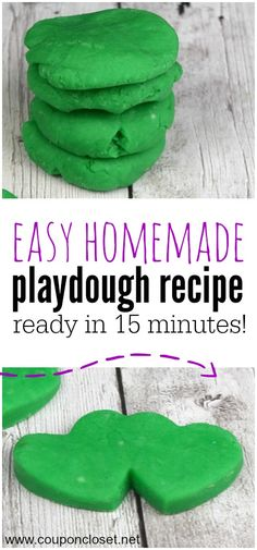 Here is another fun homemade Christmas gift idea. Make this easy homemade Playdough with your kids.