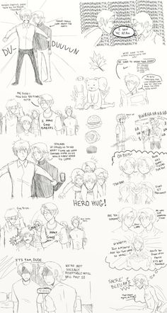 Hetalia: FACE Family Adventures Doodle Page by ExclusivelyHetalia.deviantart.com on @deviantART