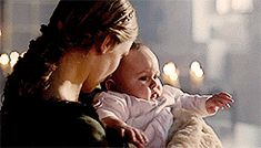 Anne and little baby Edward- someone holds me safe and warm