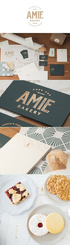 identity / amie bakery / food / restaurant