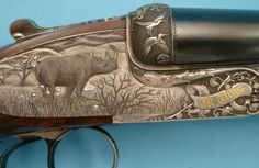.600 N.E. Sidelock Double Rifle by Thys
