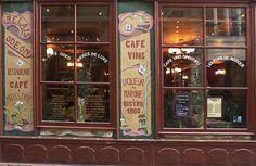 Paris Cafe Picture Gallery: Le Relais Odéon on Boulevard Saint-Germain in Paris' Saint-Germain-des-Prés