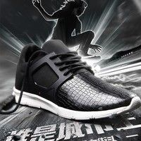 Wish | Women&Men's Platform Loafers Sneakers Leather Top Casual Shoes Sports Shoes Lover shoes