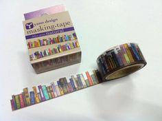 bookish masking tape