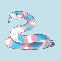 Just a cute trans positivity snakey snake Transgender Ftm, Trans Boys, Trans Art, Bubbline, Dibujos Cute, Lgbt Community, Soft Grunge, Gay Pride, Lesbian