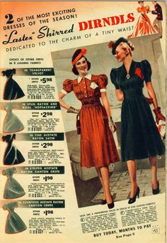 1930s fashion, can we dress like this now?