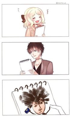 Find images and videos about diabolik lovers, yui komori and ruki mukami on We Heart It - the app to get lost in what you love. Ruki Mukami, Reiji Sakamaki, Funny Science Jokes, Stupid Funny Memes, Best Vampire Anime, Memes Pt, Mukami Brothers, Real Life Rapunzel, Diabolik Lovers Ayato