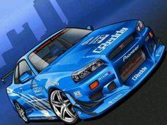 Nissan Skyline (drawing)