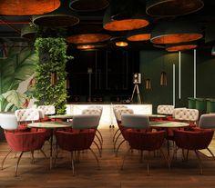 Interior design for Galigin bar Pub Design, Bar Interior Design, Lounge Design, Restaurant Interior Design, Cafe Interior, Resturant Interior, Restaurant Lighting, Restaurant Lounge, Marina Restaurant